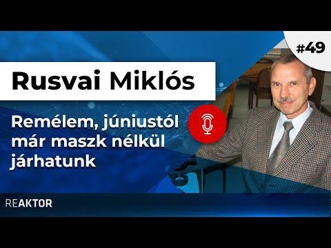 Remélem, júniustól már maszk nélkül járhatunk – podcast Rusvai Miklóssal