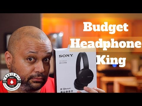 Sony WH-CH500 Bluetooth headphone unboxing and review – Budget Bass Beast!