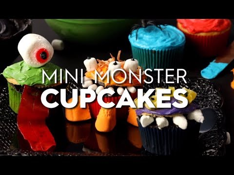 Mini Monster Cupcakes | Fun With Food | Better Homes & Gardens