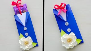 DIY Fathers Day Chocolate Greeting Card Ideas / Handmade Fathers Day Cards / Chocolate Card Ideas