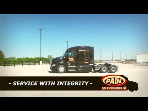 Truck Driving Jobs - Paul Transportation Inc. - Tulsa,OK