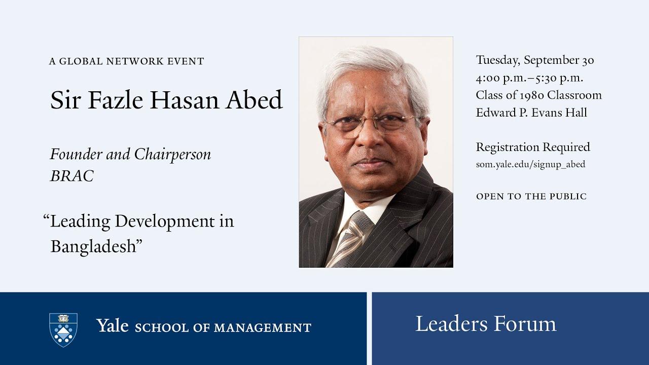 Leading development in Bangladesh