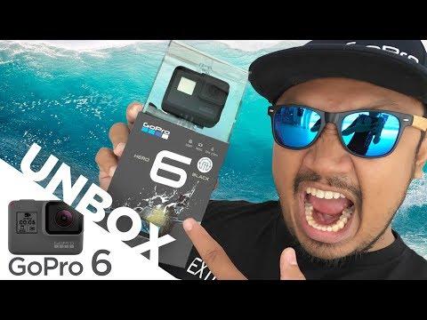 รีวิว Unbox GoPro Hero 6 Black  เจาะลึก ราคา คุณภาพกล้อง  กันสั่น คุ้มมั้ย?