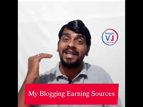 Blogging Tips in Telugu - 07 | My Blogging Income Sources | #shorts