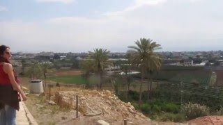 preview picture of video 'Jericho's view from Ancient Jericho (Tell es-Sultan), Jericho, the Palestinian Authority'