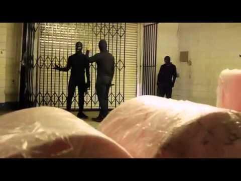Olya Lvova Warehouse fight Scene from Blonde Squad