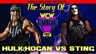 The Story of Hulk Hogan vs Sting  - WCW Starrcade 1997