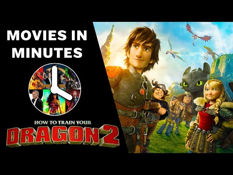HOW TO TRAIN YOUR DRAGON 2 in 4 minutes (Movie Recap)
