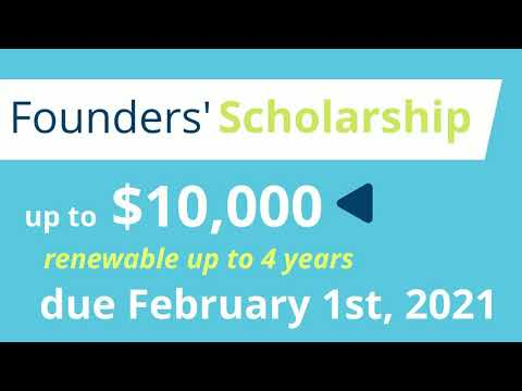 I Know I Can Funding- Founders' Scholarship