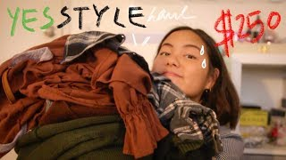 A $250 Yesstyle Try On Haul | Asian Fashion