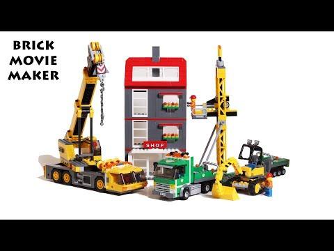 Vidéo LEGO City 7633 : Le chantier