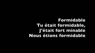 Formidable  Stromae Lyrics With English Subtitles