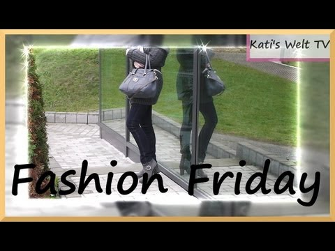 Haul (H&M) November 2012 - Outfit of the day Nr. 1 - Fashion Friday - Herbst Outfit