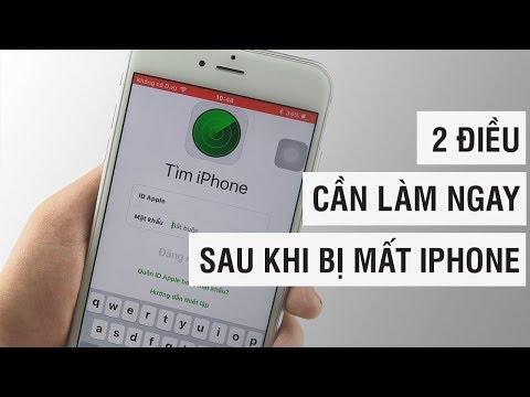 2 ĐIỀU CẦN LÀM NGAY SAU KHI BỊ MẤT IPHONE | Điện Thoại Vui