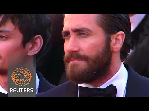 Tilda Swinton, Jake Gyllenhaal walk Cannes red carpet for 'Okja'
