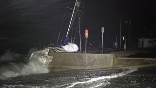 Scituate, MA Bomb Cyclone Nor'Easter - 10/17/2019
