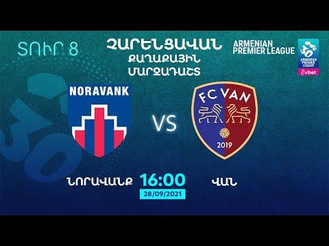 Live Stream trận đấu giữa Noravank và Van