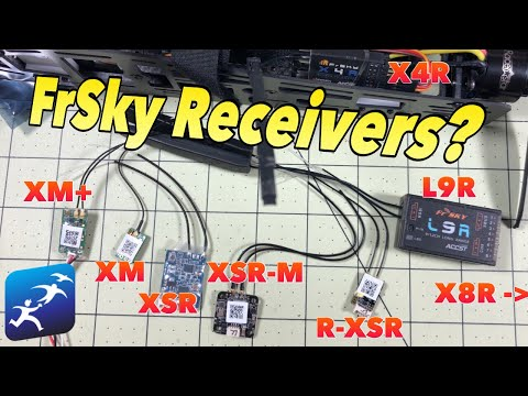 FrSky Receiver Comparison! Size? Weight? Price? Telemetry? How do you choose?