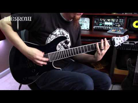 Keith Merrow and Ola Englund- Seymour Duncan Nazgul - Metal Demo