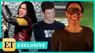 "Сериал ""Флэш"", The Flash Season 4 Gag Reel via Entertainment Tonight"