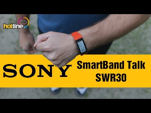Sony SmartBand Talk SWR30 - обзор спортивного браслета