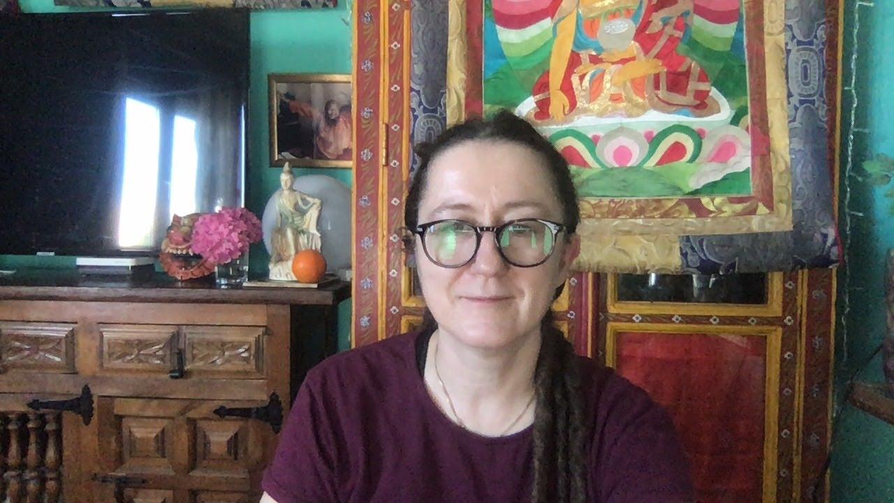 Lama Gangchen Tantric Self-Healing 2- Commentary by Lama Caroline - part 62 (EN) The Supreme Horse