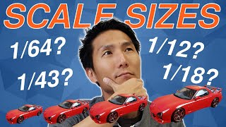 Size, Scale and Price Comparison Explained for Die-cast and Resin Model Cars