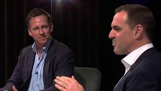 Peter Thiel and Niall Ferguson - (Part 1 of 4)