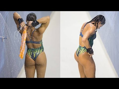 Watch The Hottest Diver Ingrid Oliveira Show Off Her Skills In This Awesome Video