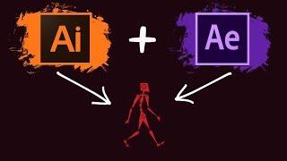 Preparando Personaje para Animación After Effects Tutorial