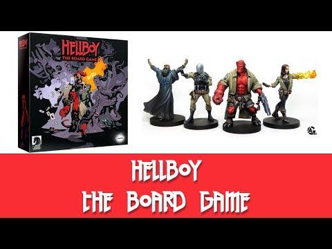 Hellboy: The Board Game Kickstarter Details