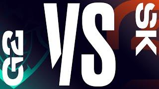 G2 vs. SK - Week 8 Day 1 | LEC Summer Split | G2 Esports vs. SK Gaming (2020)