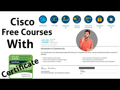 Cisco Free Courses With Certificate 2021   Full Course Tutorial ...