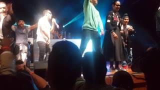 Manj Musik, Nindy Kaur and Raftaar in Auckland Nz- Singh is King