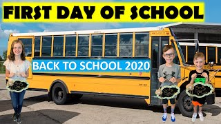 BACK TO SCHOOL 2020 | FIRST DAY OF SCHOOL 2020-21 | KIDS GOING TO SCHOOL
