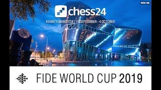 Magnus Carlsen live on the FIDE Chess World Cup Quarterfinal Tiebreaks