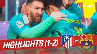 Resumen de Atlético de Madrid vs FC Barcelona (1-2)