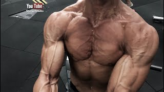 Pro Fitness Model IFBB Shredded Workout Florian Wolf Styrke Studio