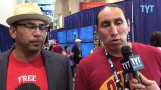 DNC: Native Americans on Clinton, Sanders, Trump thumbnail