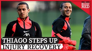 Thiago Trains Alone at Melwood | VIDEO | Liverpool Open Training | UEFA Champions League