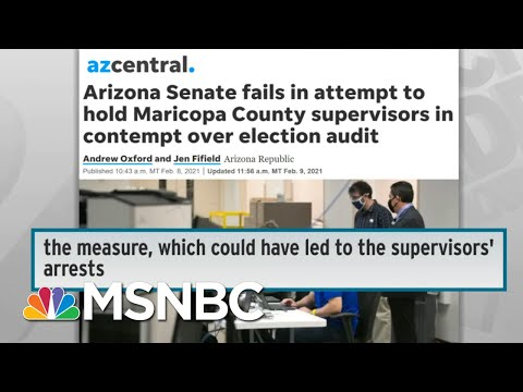 Republican Freakout Over 2020 Election Losses Sparks War On Voting In Several States | Rachel Maddow