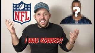 NFL PLAYER ROBBED ME AND STOLE MY IDENTITY!!
