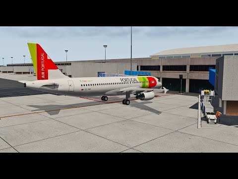 X-PLANE 11] Flight Factor A320 Ultimate | Lisbon (LPPT) - Madeira