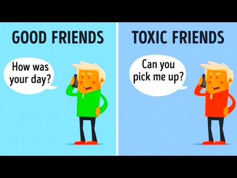 10 Differences Between Good Friends and Toxic Friends by Bright Side