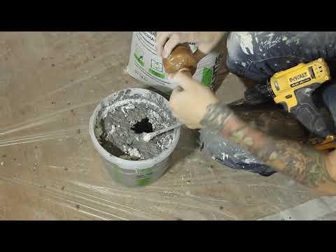 Декоративный бетон из цементной штукатурки! Советуем его посмотреть!