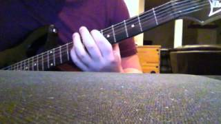 Every Time I Die - Champing at the Bit (Guitar Cover)