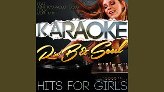 Forever Young (In the Style of Diana Ross) (Karaoke Version)