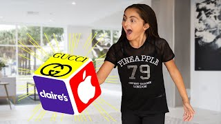 I'll buy ANYTHING you ROLL Challenge -Who gets Eliminated!!