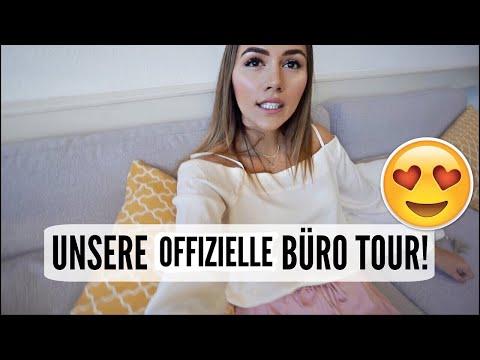 UNSERE OFFIZIELLE BÜRO TOUR! | 13.10.2017 | AnKat