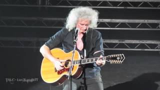 Brian May - HD - Somebody to Love (Acoustic) & Love of My Life - Hammersmith Apollo UK - July 12